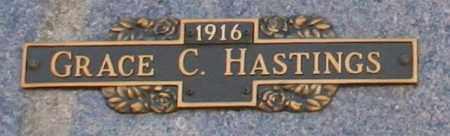 HASTINGS, GRACE C - Maricopa County, Arizona   GRACE C HASTINGS - Arizona Gravestone Photos