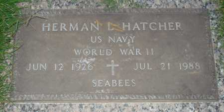 HATCHER, HERMAN L. - Maricopa County, Arizona | HERMAN L. HATCHER - Arizona Gravestone Photos