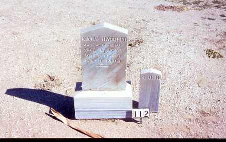 HATCHER, KATIE - Maricopa County, Arizona | KATIE HATCHER - Arizona Gravestone Photos