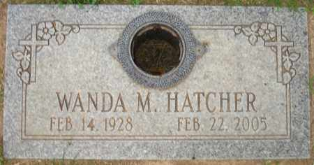 HATCHER, WANDA M. - Maricopa County, Arizona | WANDA M. HATCHER - Arizona Gravestone Photos