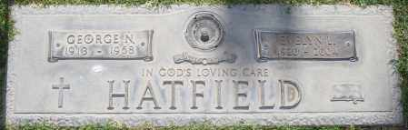 HATFIELD, GEORGE N - Maricopa County, Arizona | GEORGE N HATFIELD - Arizona Gravestone Photos
