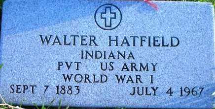 HATFIELD, WALTER E. - Maricopa County, Arizona | WALTER E. HATFIELD - Arizona Gravestone Photos