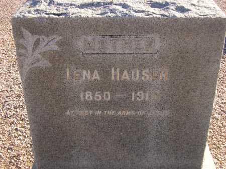 HAUSER, LENA - Maricopa County, Arizona | LENA HAUSER - Arizona Gravestone Photos