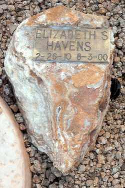 HAVENS, ELIZABETH S. - Maricopa County, Arizona   ELIZABETH S. HAVENS - Arizona Gravestone Photos