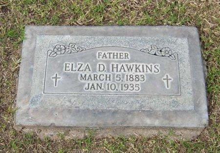 HAWKINS, ELZA D. - Maricopa County, Arizona | ELZA D. HAWKINS - Arizona Gravestone Photos