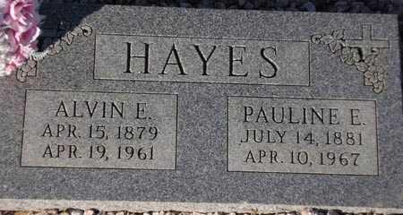 HAYES, ALVIN E. - Maricopa County, Arizona   ALVIN E. HAYES - Arizona Gravestone Photos