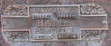 HAYES, MILDRED K - Maricopa County, Arizona | MILDRED K HAYES - Arizona Gravestone Photos