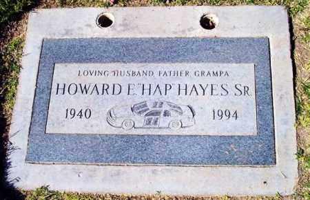 """HAYES, HOWARD E. """"HAP"""", SR - Maricopa County, Arizona   HOWARD E. """"HAP"""", SR HAYES - Arizona Gravestone Photos"""