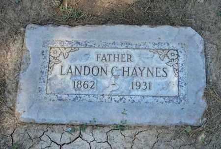 HAYNES, LANDON C. - Maricopa County, Arizona | LANDON C. HAYNES - Arizona Gravestone Photos