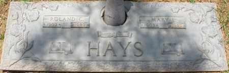 HAYS, ROLAND C. - Maricopa County, Arizona   ROLAND C. HAYS - Arizona Gravestone Photos