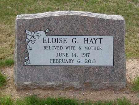 HAYT, ELOISE AMELIA - Maricopa County, Arizona | ELOISE AMELIA HAYT - Arizona Gravestone Photos