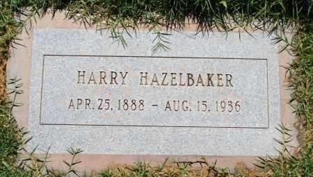 HAZELBAKER, HARRY - Maricopa County, Arizona | HARRY HAZELBAKER - Arizona Gravestone Photos