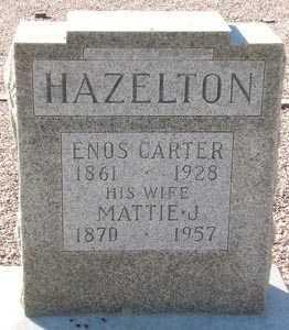 HAZELTON, MATTIE J. - Maricopa County, Arizona | MATTIE J. HAZELTON - Arizona Gravestone Photos