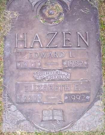 HAZEN, EDWARD L. - Maricopa County, Arizona | EDWARD L. HAZEN - Arizona Gravestone Photos