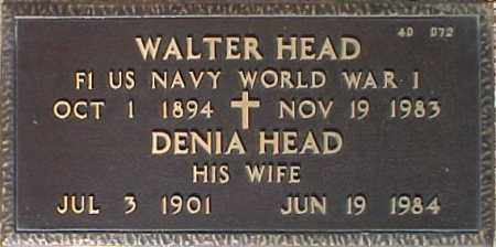 HEAD, WALTER - Maricopa County, Arizona | WALTER HEAD - Arizona Gravestone Photos
