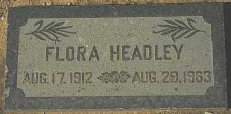 HEADLEY, FLORA - Maricopa County, Arizona | FLORA HEADLEY - Arizona Gravestone Photos