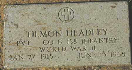 HEADLEY, TILMON - Maricopa County, Arizona | TILMON HEADLEY - Arizona Gravestone Photos