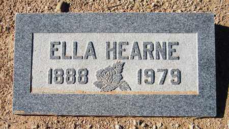 HEARNE, ELLA - Maricopa County, Arizona | ELLA HEARNE - Arizona Gravestone Photos