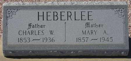 HEBERLEE, MARY A. - Maricopa County, Arizona | MARY A. HEBERLEE - Arizona Gravestone Photos