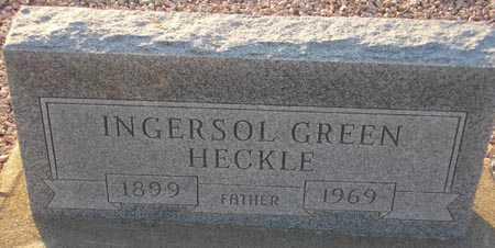 HECKLE, INGERSOL GREEN - Maricopa County, Arizona | INGERSOL GREEN HECKLE - Arizona Gravestone Photos
