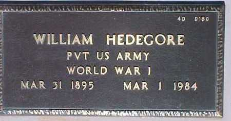 HEDEGORE, WILLIAM - Maricopa County, Arizona | WILLIAM HEDEGORE - Arizona Gravestone Photos