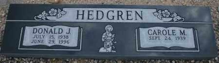 HEDGREN, DONALD J. - Maricopa County, Arizona   DONALD J. HEDGREN - Arizona Gravestone Photos