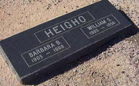 HEIGHO, BARBARA B. - Maricopa County, Arizona | BARBARA B. HEIGHO - Arizona Gravestone Photos