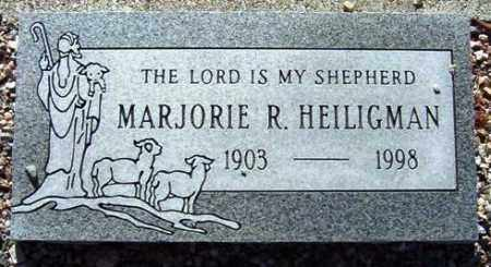 HEILIGMAN, MARJORIE R. - Maricopa County, Arizona | MARJORIE R. HEILIGMAN - Arizona Gravestone Photos