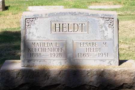 HELDT, MATILDA L. - Maricopa County, Arizona   MATILDA L. HELDT - Arizona Gravestone Photos