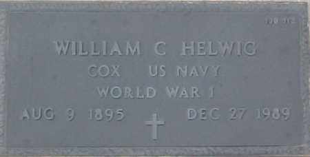 HELWIG, WILLIAM C. - Maricopa County, Arizona | WILLIAM C. HELWIG - Arizona Gravestone Photos