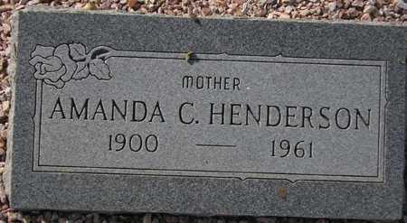 HENDERSON, AMANDA C. - Maricopa County, Arizona | AMANDA C. HENDERSON - Arizona Gravestone Photos