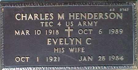 HENDERSON, EVELYN C. - Maricopa County, Arizona | EVELYN C. HENDERSON - Arizona Gravestone Photos