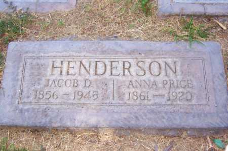 PRICE HENDERSON, ANNA - Maricopa County, Arizona | ANNA PRICE HENDERSON - Arizona Gravestone Photos