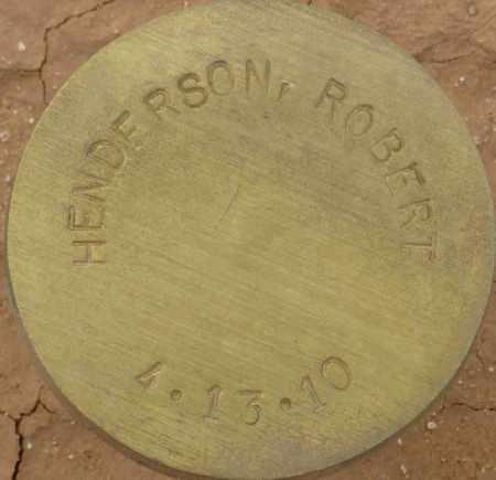HENDERSON, ROBERT - Maricopa County, Arizona | ROBERT HENDERSON - Arizona Gravestone Photos