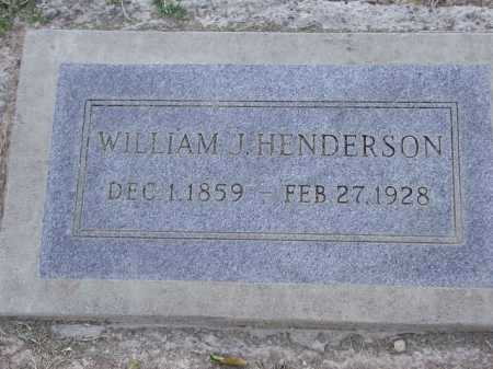 HENDERSON, WILLIAM - Maricopa County, Arizona | WILLIAM HENDERSON - Arizona Gravestone Photos