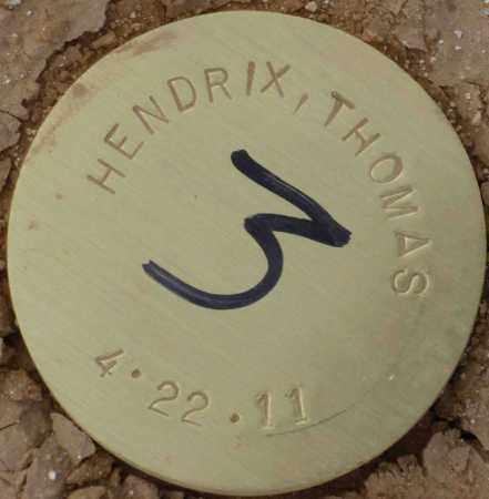 HENDRIX, THOMAS - Maricopa County, Arizona | THOMAS HENDRIX - Arizona Gravestone Photos