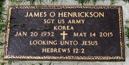 HENRICKSON, JAMES O. - Maricopa County, Arizona   JAMES O. HENRICKSON - Arizona Gravestone Photos