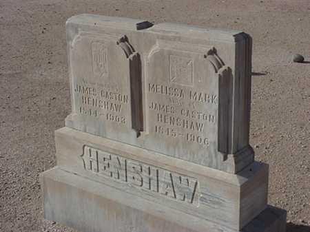HENSHAW, MELISSA MARK - Maricopa County, Arizona | MELISSA MARK HENSHAW - Arizona Gravestone Photos