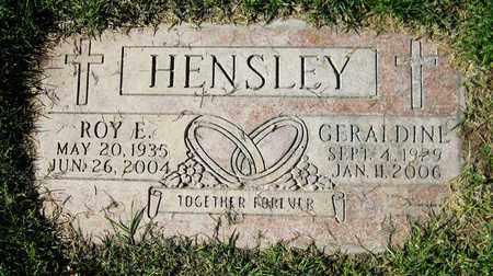 HENSLEY, ROY E. - Maricopa County, Arizona | ROY E. HENSLEY - Arizona Gravestone Photos