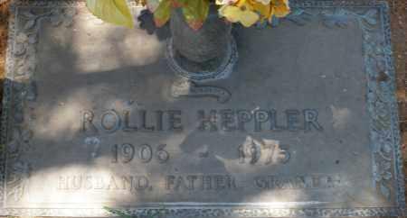 HEPPLER, ROLLIE - Maricopa County, Arizona   ROLLIE HEPPLER - Arizona Gravestone Photos