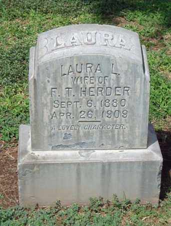 HERDER, LAURA L. - Maricopa County, Arizona | LAURA L. HERDER - Arizona Gravestone Photos