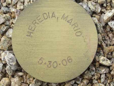 HEREDIA, MARIO - Maricopa County, Arizona | MARIO HEREDIA - Arizona Gravestone Photos