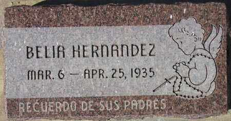 HERNANDEZ, BELIA - Maricopa County, Arizona   BELIA HERNANDEZ - Arizona Gravestone Photos