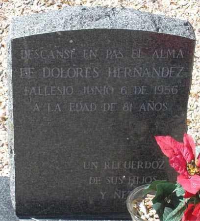 HERNANDEZ, DOLORES - Maricopa County, Arizona | DOLORES HERNANDEZ - Arizona Gravestone Photos