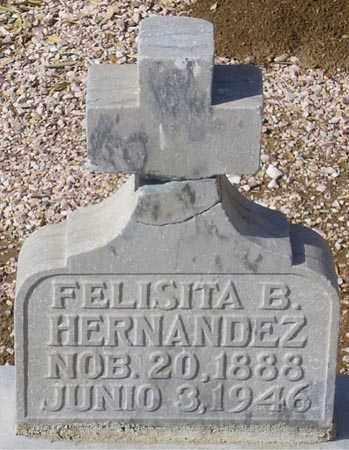 HERNANDEZ, FELISITA B. - Maricopa County, Arizona | FELISITA B. HERNANDEZ - Arizona Gravestone Photos