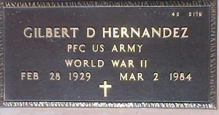 HERNANDEZ, GILBERT D. - Maricopa County, Arizona | GILBERT D. HERNANDEZ - Arizona Gravestone Photos