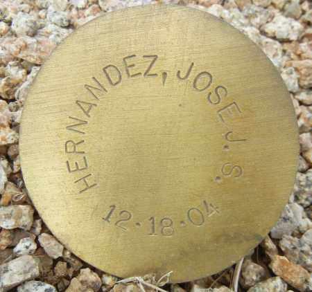 HERNANDEZ, JOSE J. S. - Maricopa County, Arizona | JOSE J. S. HERNANDEZ - Arizona Gravestone Photos