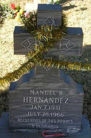 HERNANDEZ, MANUEL B. - Maricopa County, Arizona | MANUEL B. HERNANDEZ - Arizona Gravestone Photos