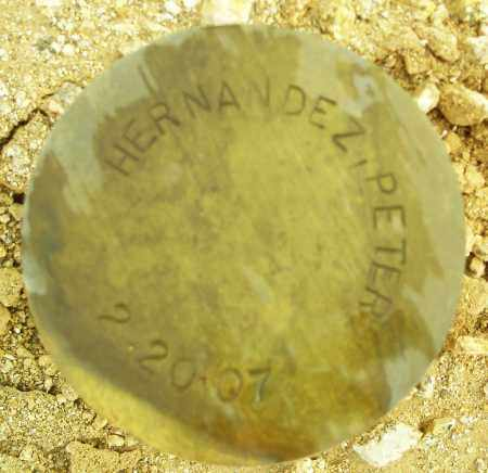 HERNANDEZ, PETER - Maricopa County, Arizona   PETER HERNANDEZ - Arizona Gravestone Photos