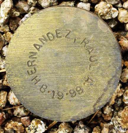 HERNANDEZ, RAUL A. - Maricopa County, Arizona | RAUL A. HERNANDEZ - Arizona Gravestone Photos